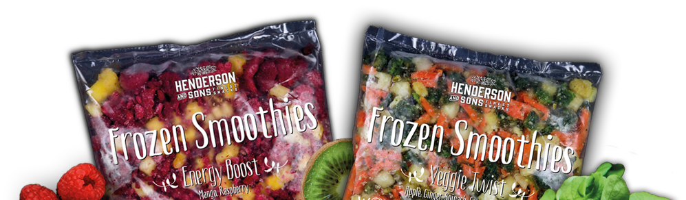 Frozen Smoothies - Veggie Twist - Energy Boost