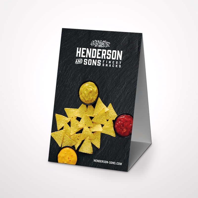 HENDERSON & SONS Table Displays