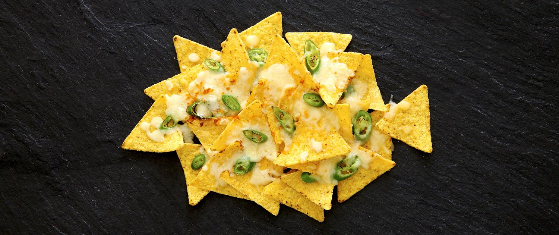 Tortilla Chips mit Jalapenos